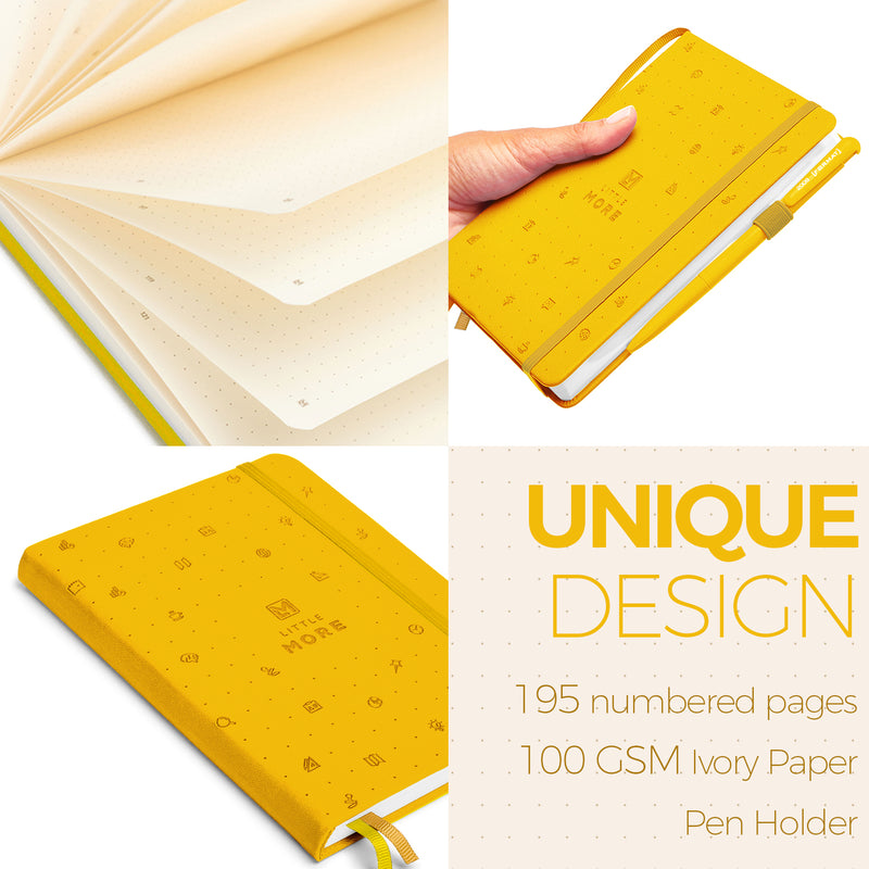 YELLOW Bullet Journal Notebook