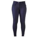 CoolMax Navy Breeches with Silicone Seat Grip
