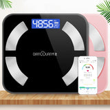 QianXuan Bluetooth Body Fat Scale Smart Health Monitor APP Weight/Fat/BMI/BMR/Water