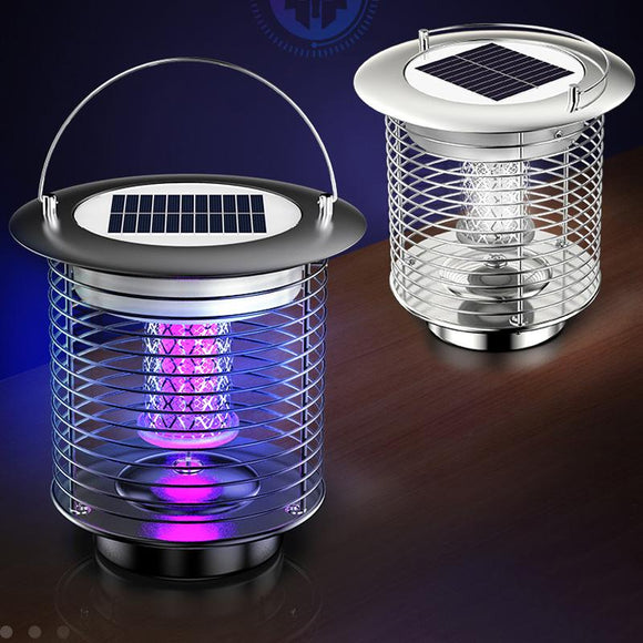 KEYEON TM-01 Solar Fly Trap Mosquito Killer Insect Bug Zapper UV Lamp Electric Outdoor Light