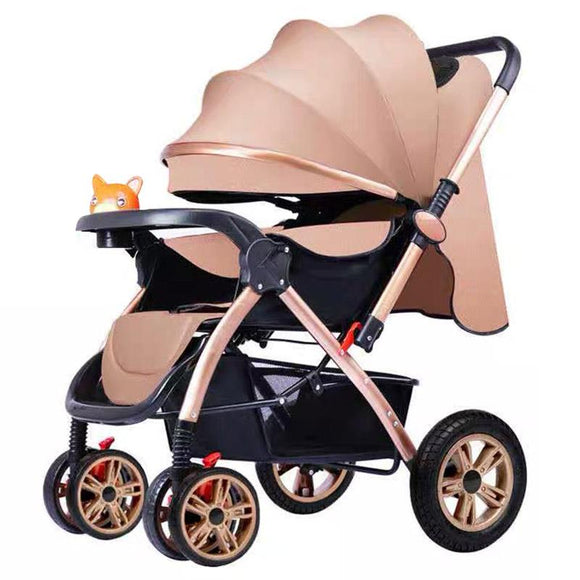 Fagejie 803 2 IN 1 Baby Toddler Folding Recline Pusher Stroller Pram Seat Buggy