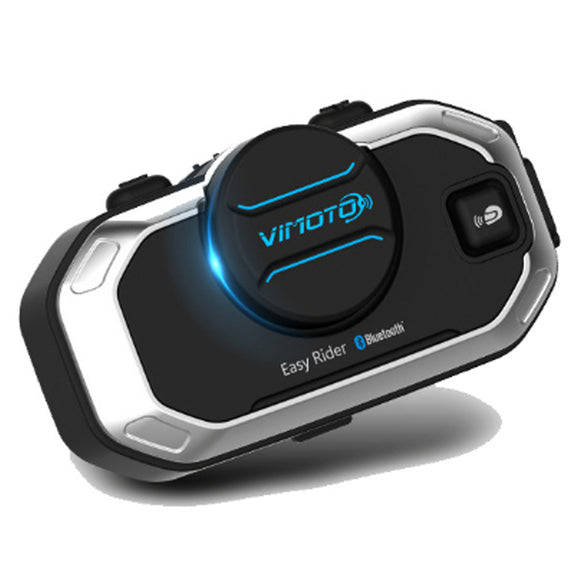 Interphone Motorcycle Bluetooth Intercom Stereo Headset Sport Helmet Speaker V8