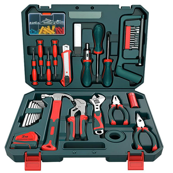 Toolbox Set Household Hand Tools Hardware Maintenance Multi-function