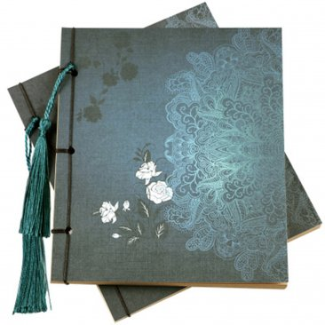 Stylish Notebook Traditional Chinese style booklet Thread Binding Bookbinding Stitch Binding