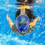 GoPro AU Full Face Diving Sea View Snorkel Snorkeling Mask Swimming Goggles