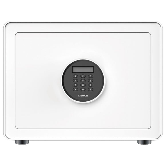 CRMCR BGX-X1-30Z Safe home Anti-theft card-mark safe home small fingerprint password box closet invisible in-wall office anti-theft all-steel bedside cabinet safe deposit box