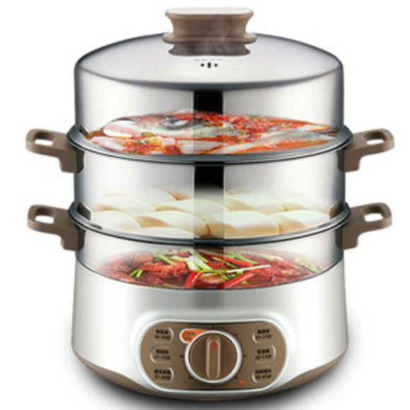 Supor ZN28YK807-150 13L Multi-Function Electric Steamer With Three Layers Of Stainless Steel
