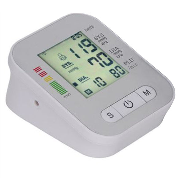 Engsilag RAK289 Digital Electronic Blood Pressure Monitor Upper Arm BP