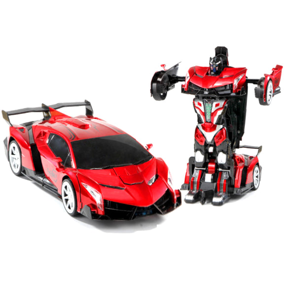GEAR D854 Oversized remote control deformed car Rambo King Kong robot Gini electric boy children's toy racing sports car