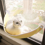 Boat Half Moon-shaped Balcony Cat Bed Suction Cup Closed Villa Four Seasons Felt Nest