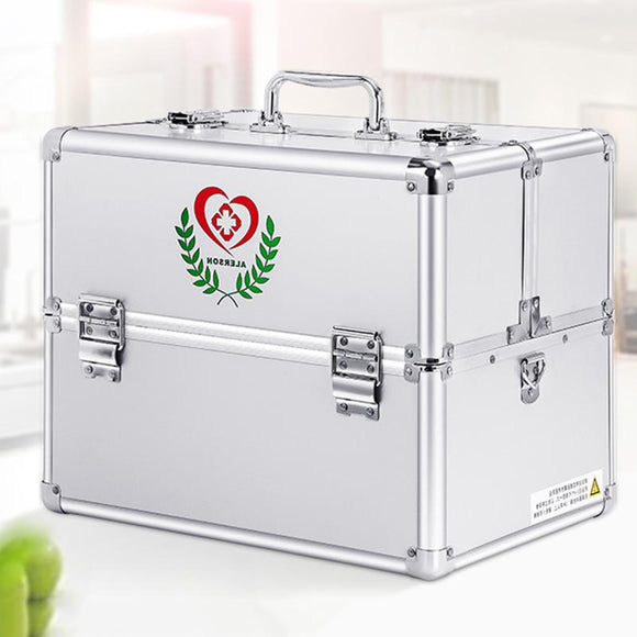 Zexin D500 Portable Extra Large Multilayer Full Set of Family Medicine First Aid Emergency Medical Storage Box