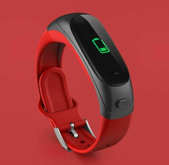V08s Color Screen Smart Business Bracelet Bluetooth Headset Two In One Bracelet Blood Pressure Heart Rate Monitoring Fitness Tracker