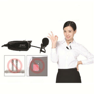 Amplifier Voice 2.4G New Wireless Transmission Microphone Technology Speaker For Conference or Classic Music Show