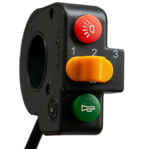Handlebar Three-button Controller with Horn Light Speed