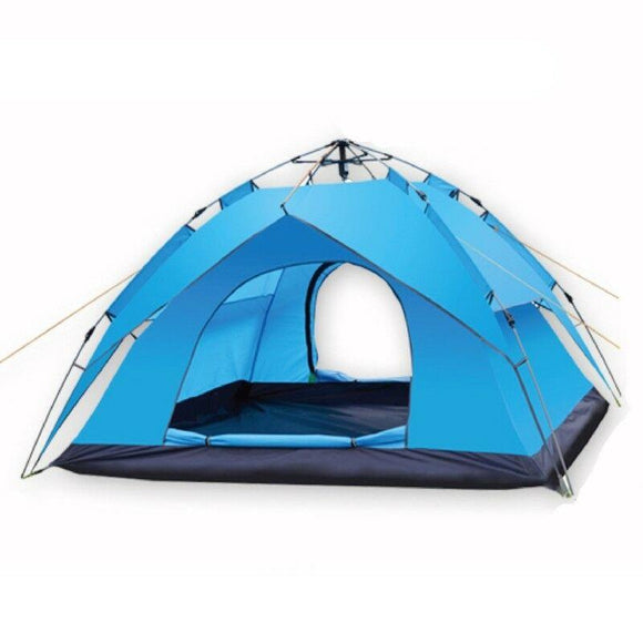 3-4 People King Biker Size Camping Tent Outdoor Shelter