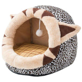 Kennel Shelter Kitty Rabbit And Nest Comfortable Warm Cats Cave Beds Accessories