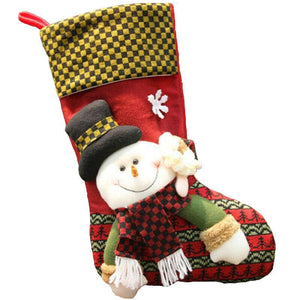 CINDEY Christmas Gift Bag Sock Style Big Size Creative Gift