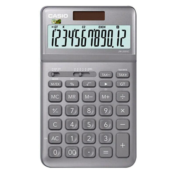 CASIO JW-200SC Commercial Calculator Office Use Stylish Design