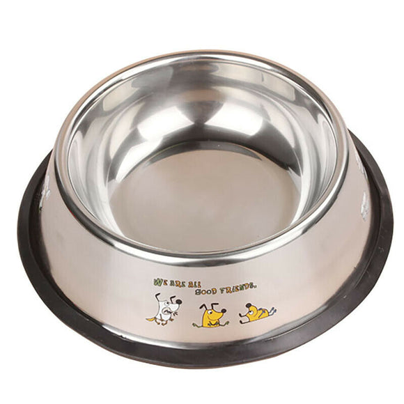 Stainless Steel Pet Bowl Dog's Bowl Large Size Bowl