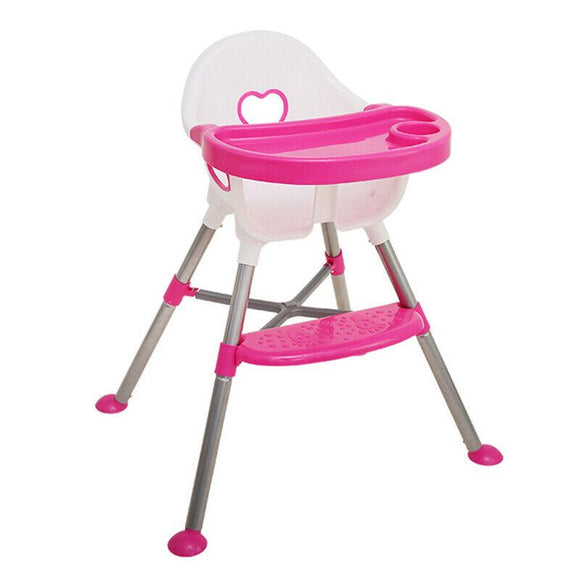 Children's Dining Chair Baby Multi-function Dining Table and Chairs Baby Portable Plastic Chair