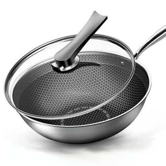 Non Stick Fry Pan Stainless Steel Fry Pan