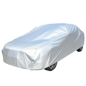 Automatic Car Clothing Rainproof Automatic Intelligent Remote Control Sun-proof Car Cover Car Supplies Silver Bluetooth Model
