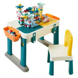 Multi-functional Baby Children Toy Building Blocks Table Chair Blocks
