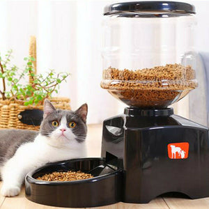 Automatic Dog Food Feeder Smart Feeder Big Capacity Timing Food Feeder