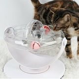 Cat Toy Double 360 Degree Rotating Ring Ball Track Puzzle Cat Toy - ottostore