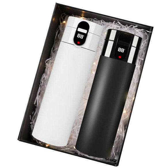 HONGMEITIANYI XD-CX-007 Smart Mug Temperature Stainless Steel Water Thermal Bottle With LCD Touch Screen Gift Box