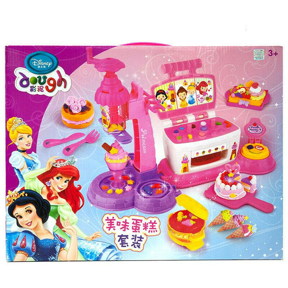 3 in 1 Chef Set Cake and Dessert Studio Dough Set Creativity Toy For Age 3+