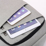 USB Cable Quick Mobile Recharge Back Pack Travel Bag Grey