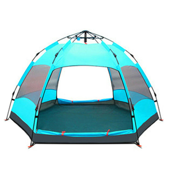 Double Layer Waterproof Automatic Quick Open Camping Tent Outdoor 5-8 Persons