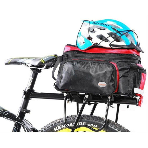 Bicycle Mountain Bike Rear Rack Seat Post Mount Pannier Luggage Carrier Black