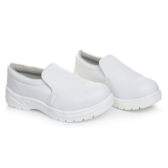 ESD Anti static Plastic Cap Toe Safety Shoes Work White Unisex
