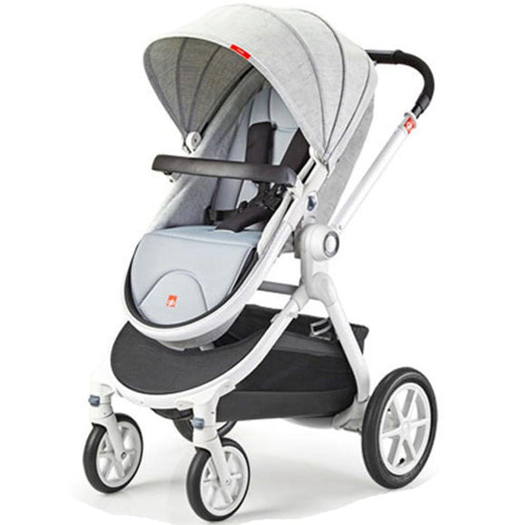 Good baby GB08-W Baby Strollers 2 In 1 Lying and Sit High Landscape Two-way Folding Four-wheel