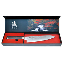 GOUGIRI Knives VG10 Gyuto Japanese Chefs Knife 8-Inch Ryu-Knives Premium Series Japanese Best Quality VG10 Steel with 33 Layers Damascus Blade, Premium Packaging