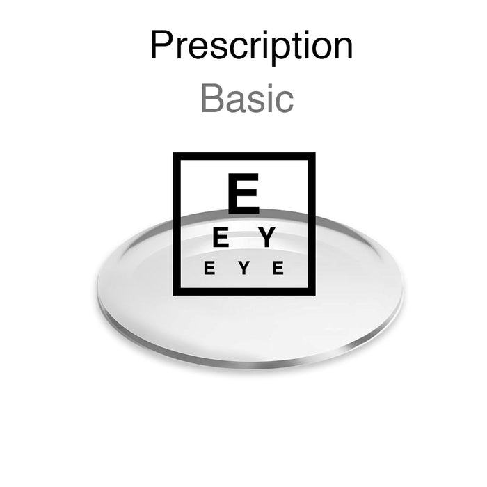 Prescription Lenses - Basic - newyork style eyewear brand, online shopping now.