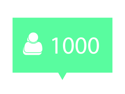 Advanced Package: 1000 Followers