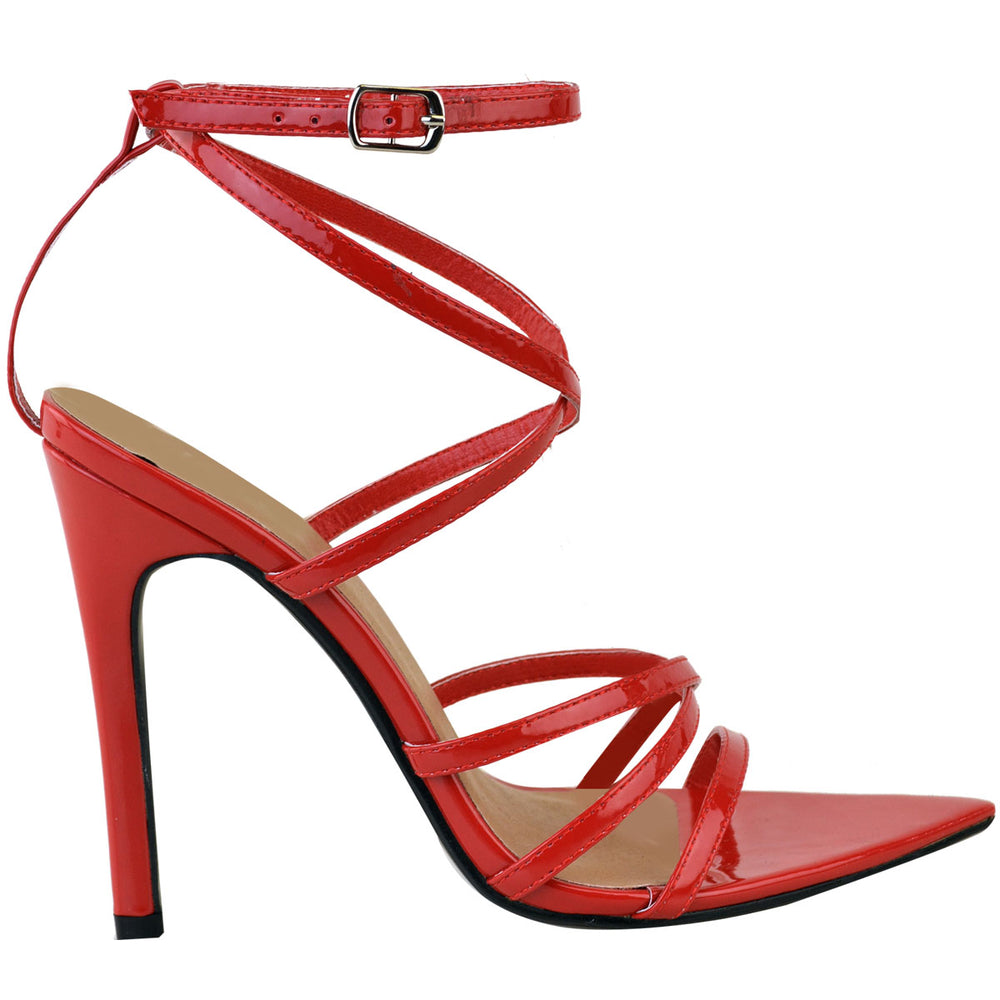 CHAUSSURE PATRICIA ROUGE