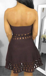 Robe Violette Bordeau