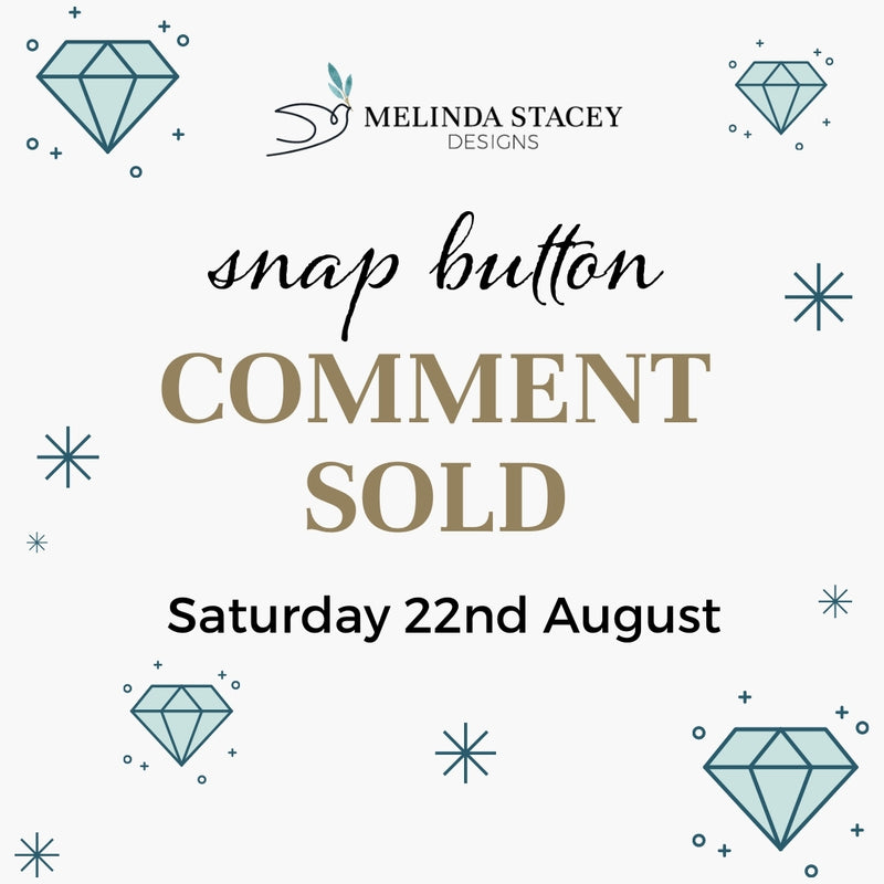 Snap Button Comment SOLD -  Lucky Dips