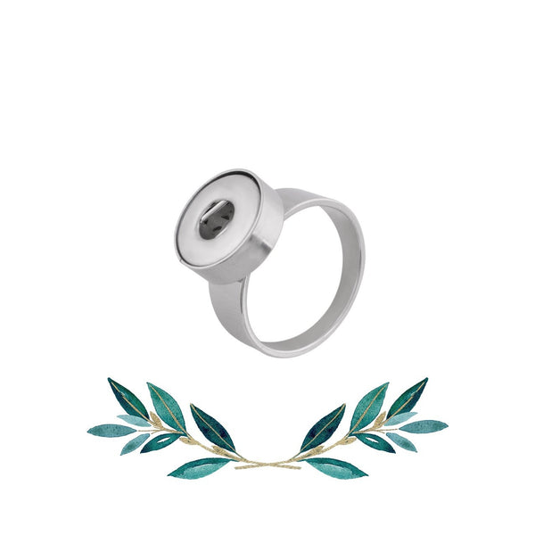 12mm Petite Stainless Steel Ring - Sizes 6-10