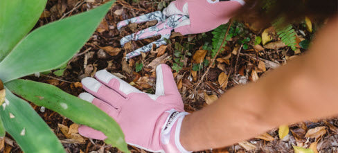 Garden gloves with style and durability from The Little Country Store