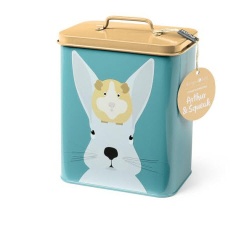 Arthur & Squeak Rabbit & Guinea Pig Tin