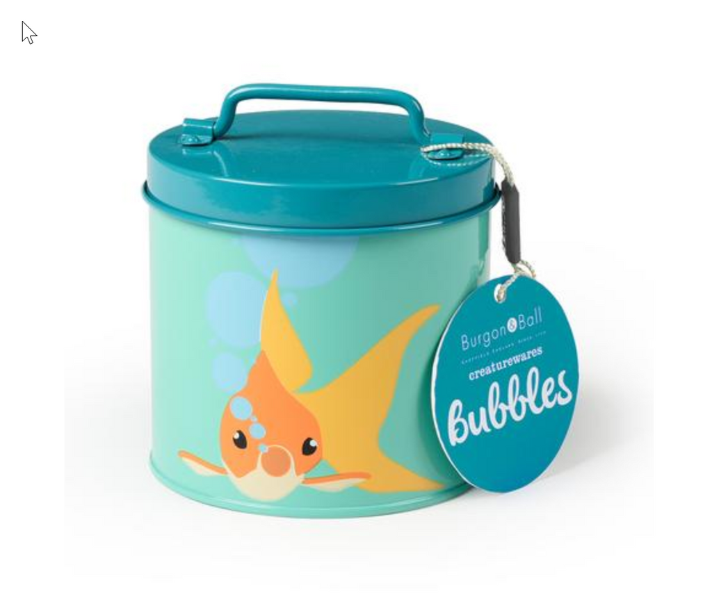 Bubbles Fish Tin