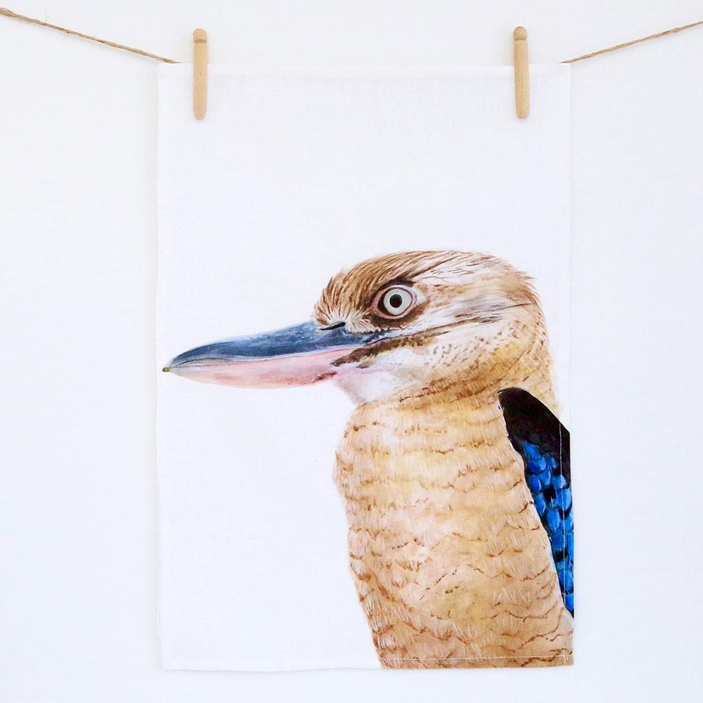 KENNY THE KOOKABURRA TEA TOWEL