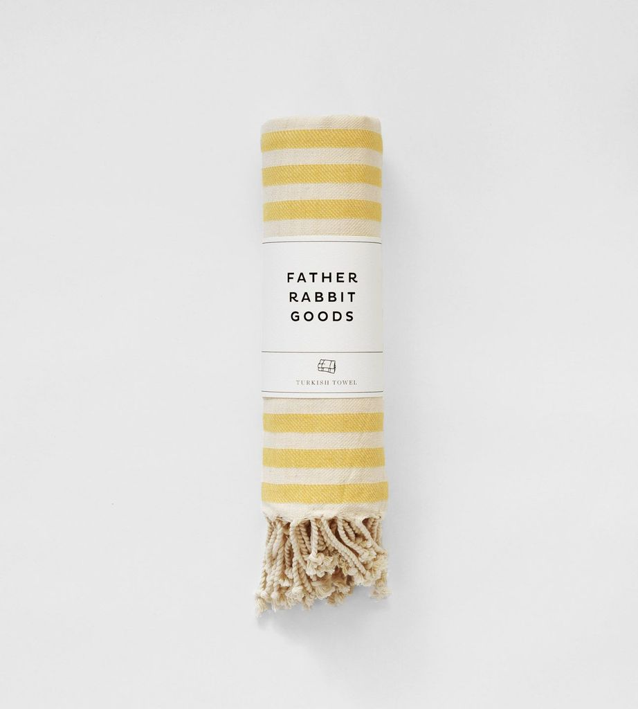 FATHER RABBIT GOODS | TURKISH TOWEL | THE SUNNY DAY