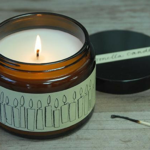 Citronella Candle Jar