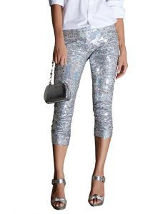Luz De Ibiza 32-235x300 Shine bright under the sun Trends  summer styles sequin shorts sequin leggins beaded necklace